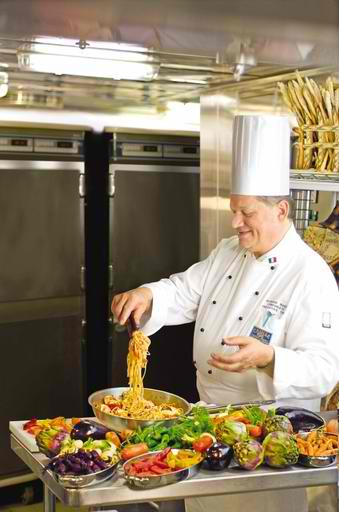 Princess Cruises' Master Chef Alfredo Marzi