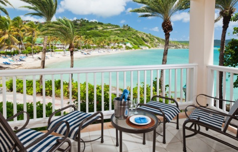 Balcony View at St. James's Club & Villas, Antigua