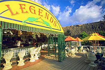 Bar At Legends Beach Resort In Negril Jamaica