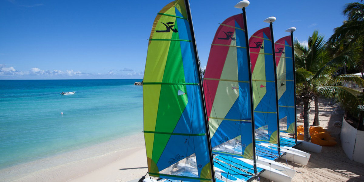 Beach Activities & Watersports at Blue Waters Resort, Antigua