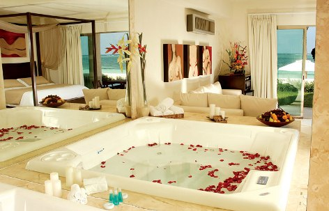 In-Room Jacuzzi at Desire Resorts