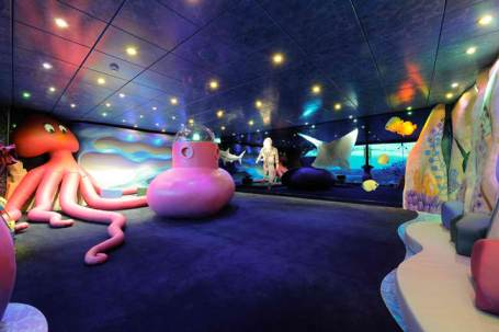 Underwater World Playroom on MSC Magnifica