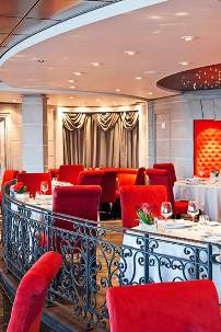 Private Restaurant for MSC Cruises' Yacht Club Guests