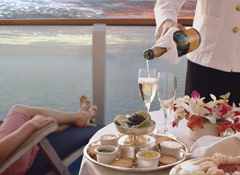 Guests Aboard Princess Cruises Enjoy Balcony Dining and Other Special Experiences