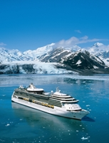 Royal Caribbean's Serenade of the Seas at Hubbard Glacier, Alaska