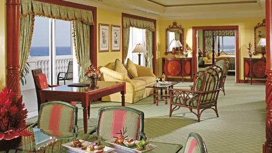 Ritz Carlton Suite at the Ritz Carlton Golf & Spa Resort, Rose Hall, Jamaica