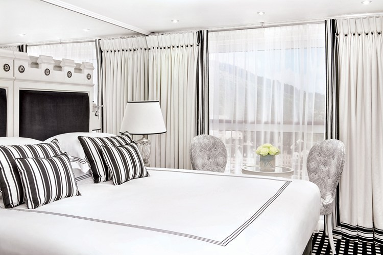 Uniworld River Cruises Stateroom on S.S. Catherine