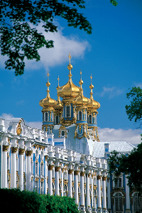 Catherine Palace, Pushkin, Russia - Seen from a Uniworld River Cruises Ship