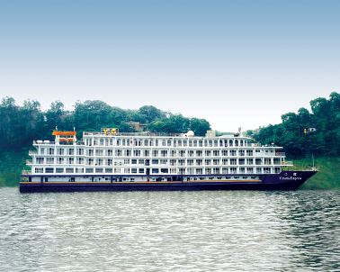 The Victoria Empress on the Yangtze River, China