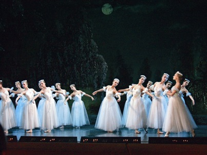 Ballet Performance in St. Petersburg