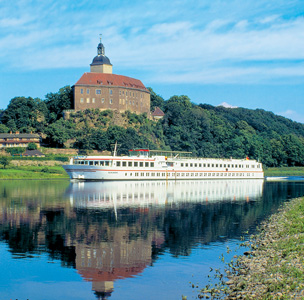 Viking Schumann on the Elbe River